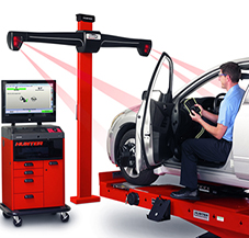 Hjulinst 228 Llning Hunter Quick Check Wheel Alignment System